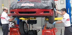 Go Service Express @ Milton Toyota in Ontario