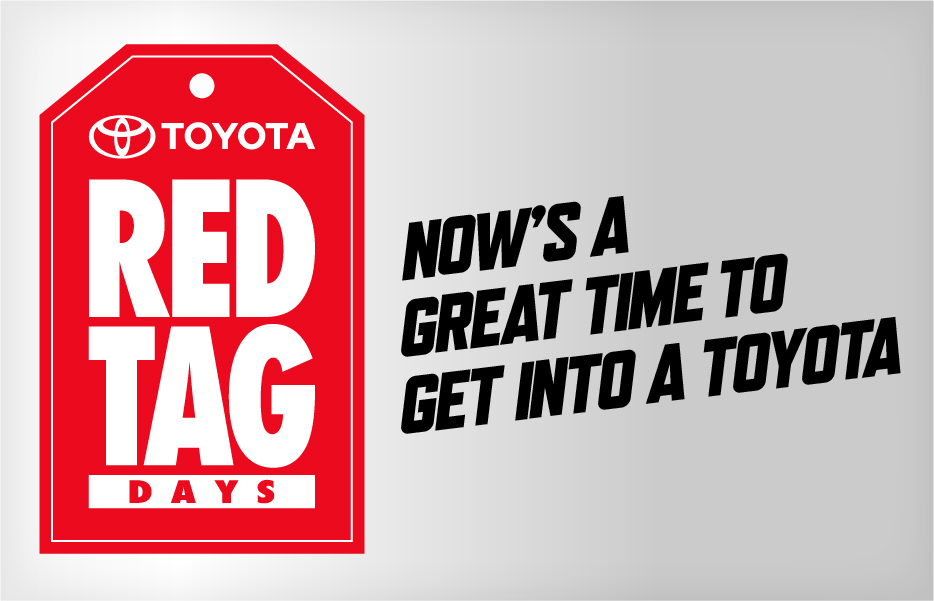 Toyota Red Tag Days Event: Toyota Canada Incentives for February 2017