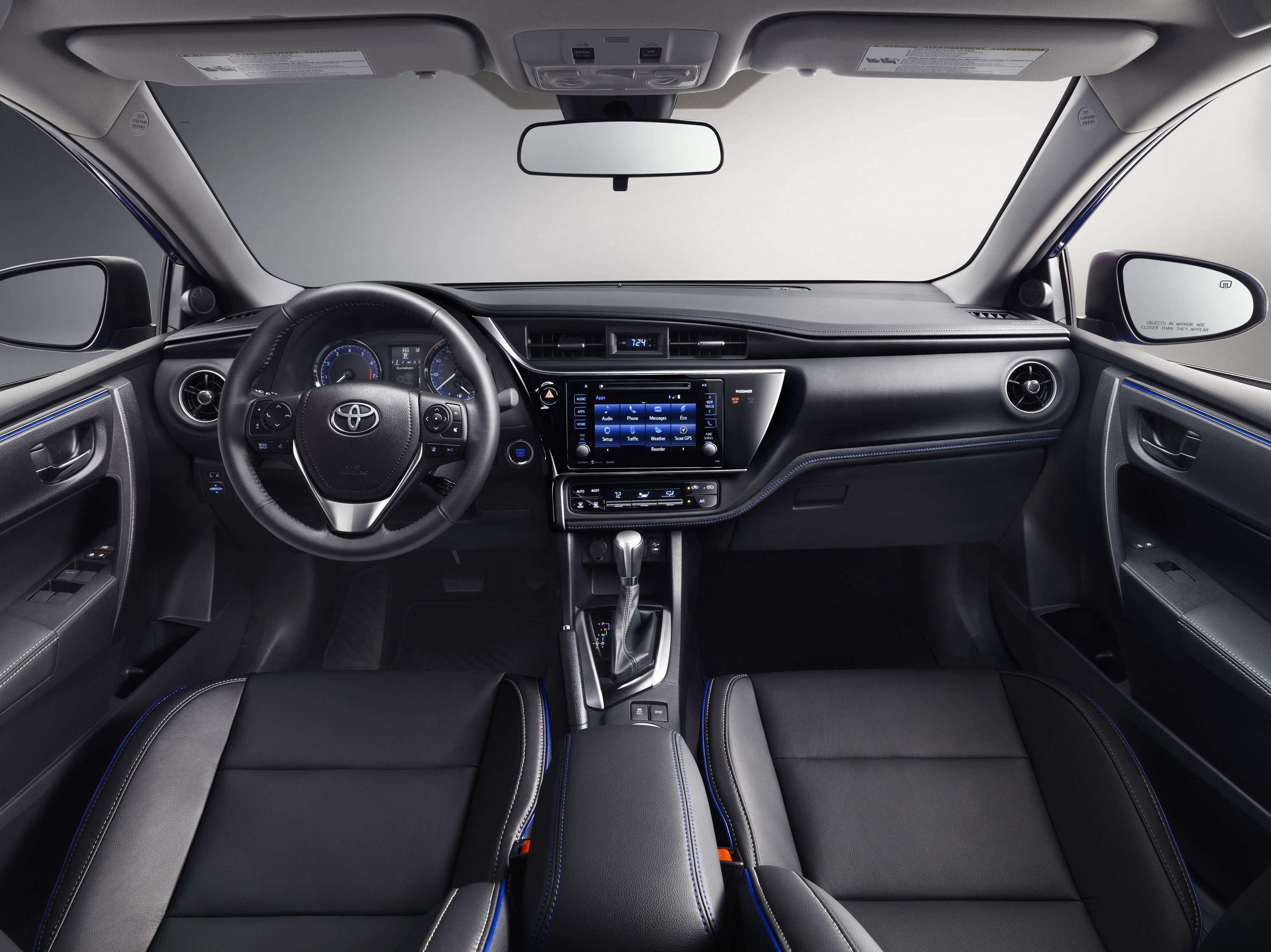 2017 Toyota Corolla Interior @ Milton Toyota in Greater Toronto Area