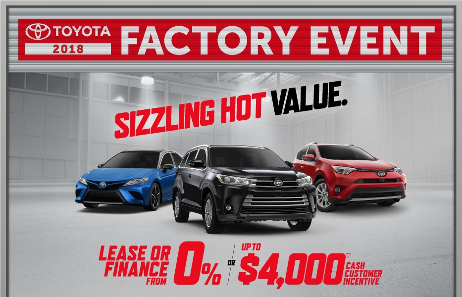Toyota Canada Incentives