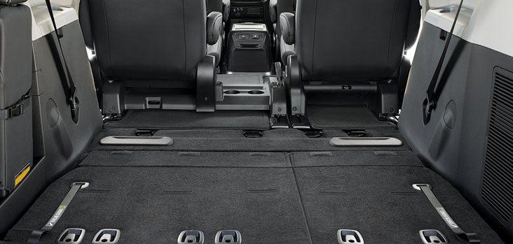 2017 Toyota Sienna Back Seats @ Milton Toyota in Toronto