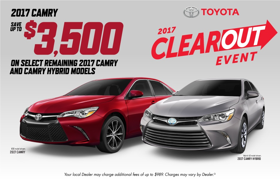 Toyota Clearout Event at Milton Toyota in Toronto, Ontario, and the GTA
