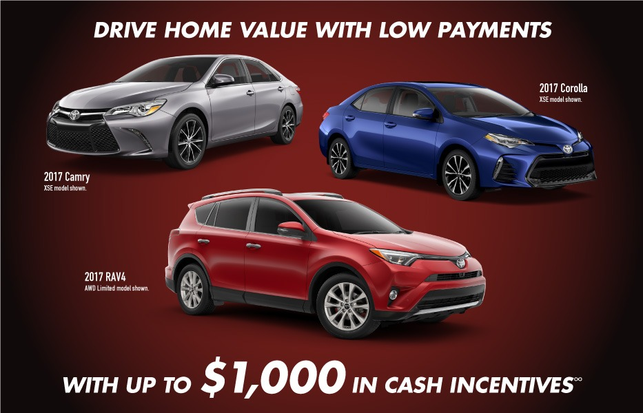 Lease Incentives January Toyota Canada Incentives in Milton Ontario, and the GTA.