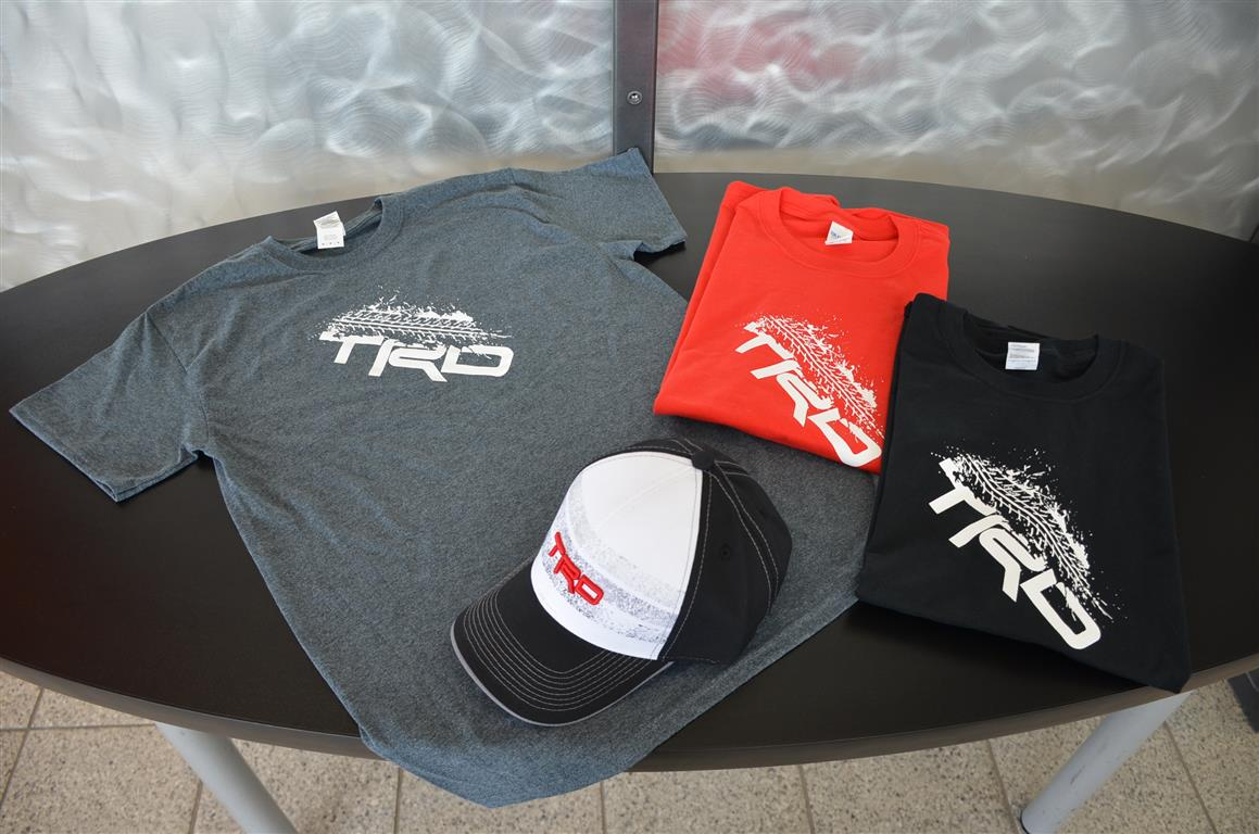 Wear your love for Toyota TRD!