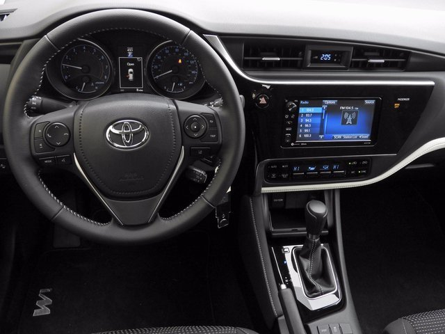 2018 Corolla iM Dashboard at Milton Toyota