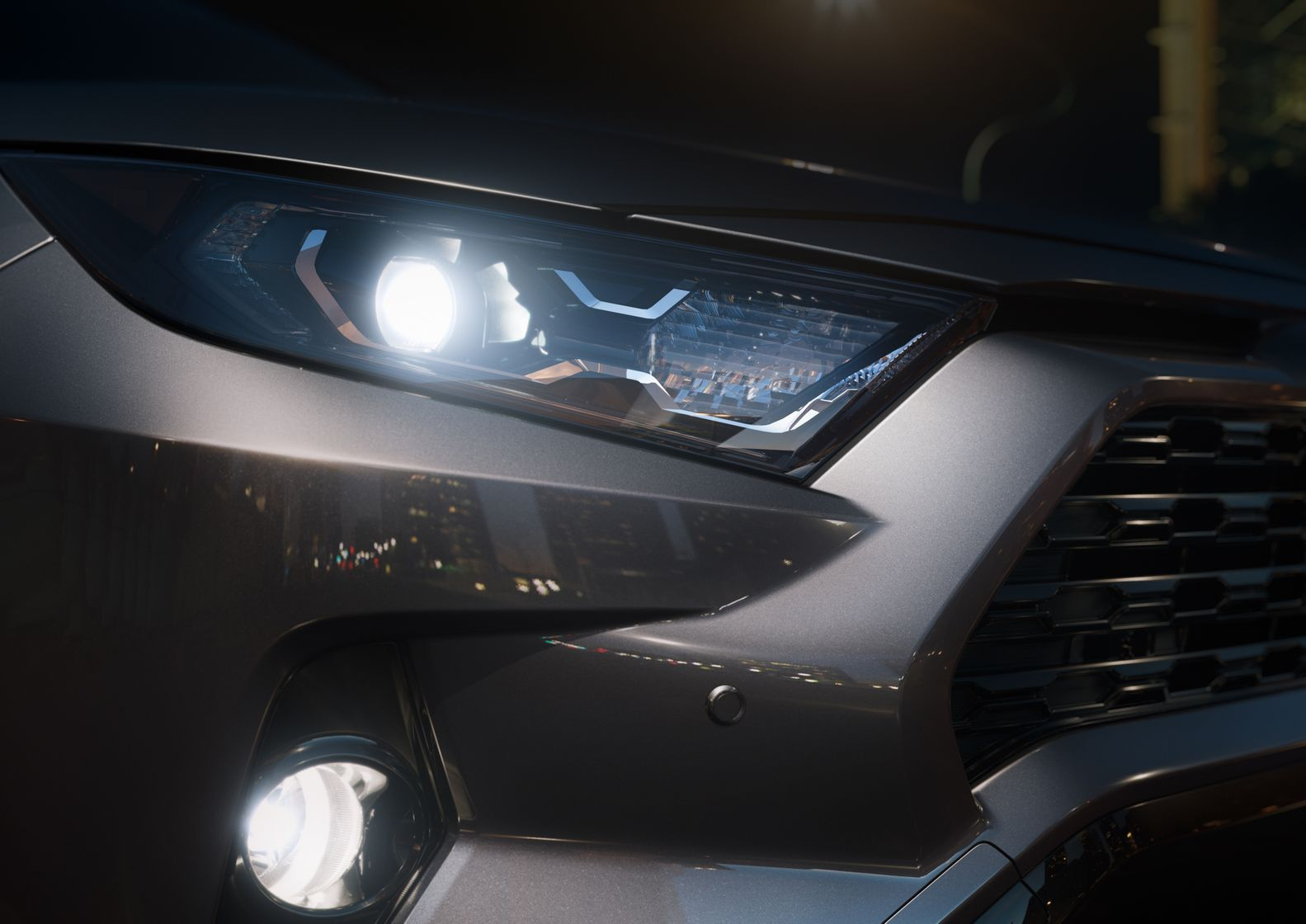 2019 Toyota RAV4 Headlights @ Milton Toyota in Greater Toronto Area