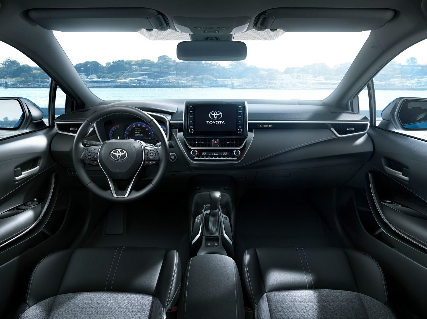2019 Corolla Hatchback Interior at Milton Toyota