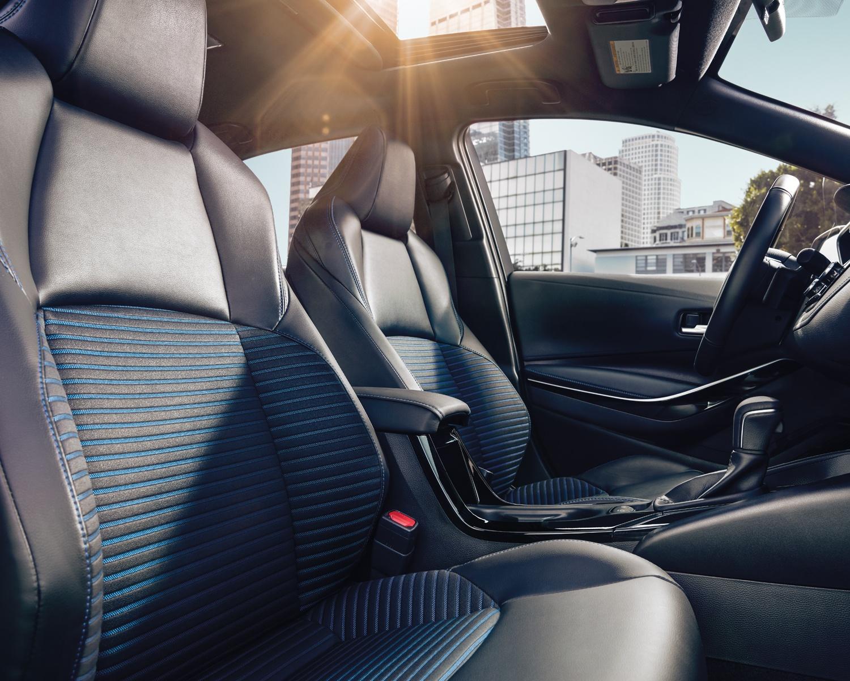 2020 Corolla Interior at Milton Toyota