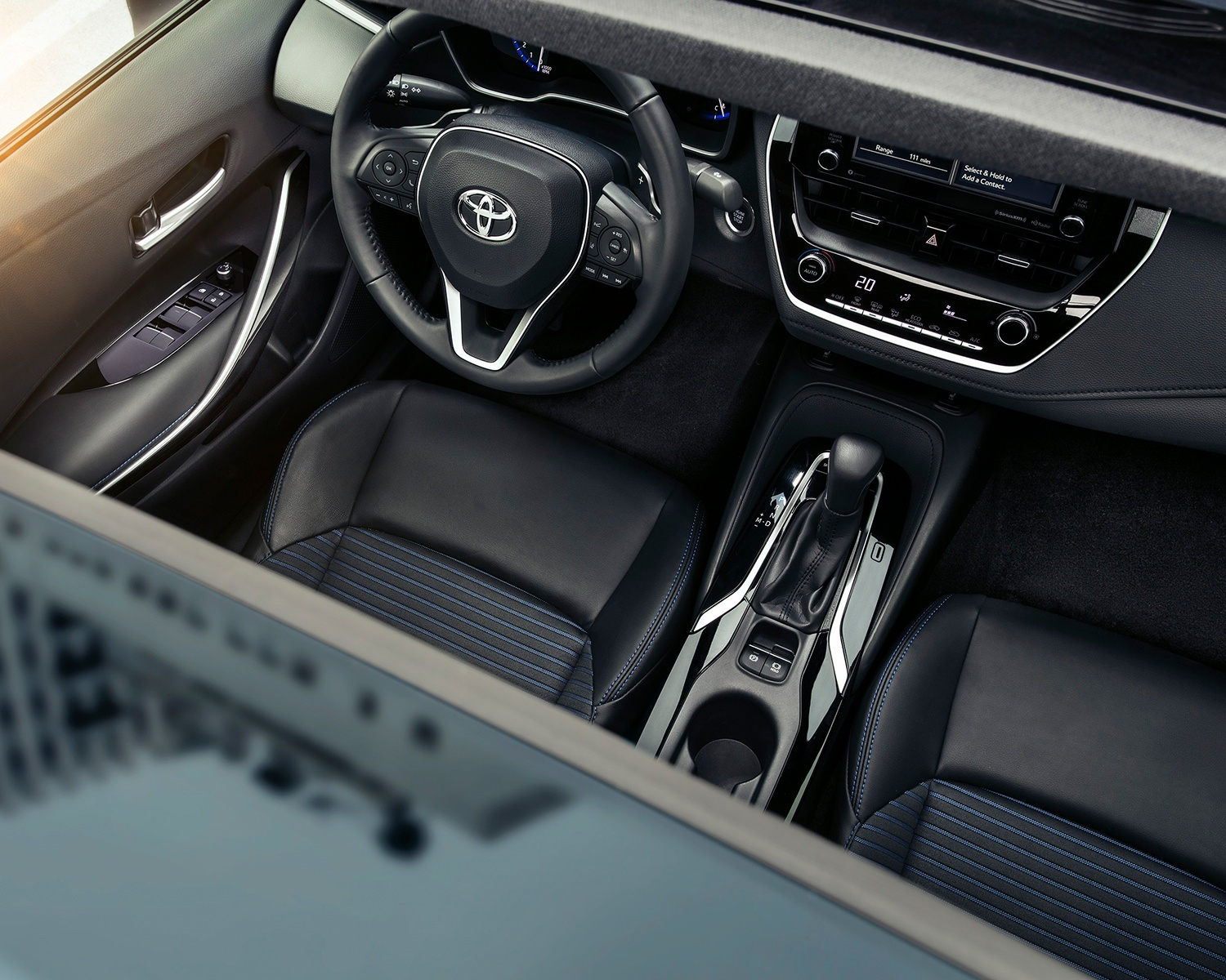 2020 Corolla Interior at Milton Toyota