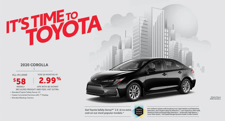 Toyota Corolla at Milton Toyota